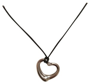 Tiffany & Co. Tiffany & Co. open heart pendant with diamond, necklace