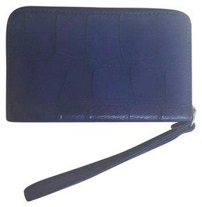 Other Textured Wristlet in blue