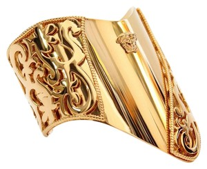 Versace Gold New Plated Cuff Bracelet