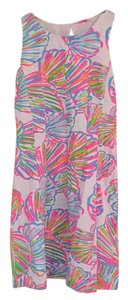Lilly Pulitzer short dress Pink, green, white, blue, orange on Tradesy