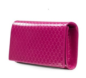 Gucci Hot Pink Fuchsia Clutch