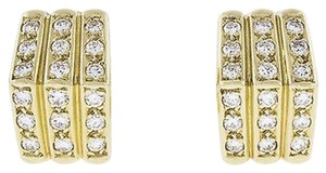 Christian Dior Christian,Dior,Apx,0.72,Ct,Diamond,18k,Yellow,Gold,Earrings