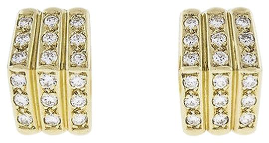 Dior Christian,Dior,Apx,0.72,Ct,Diamond,18k,Yellow,Gold,Earrings