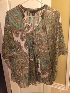 Tommy Bahama Top blue