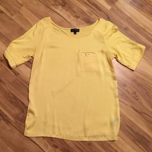 The Limited Short Sleeve Pocket T Shirt Yellow