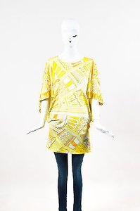 Emilio Pucci Yellow Orange Tunic