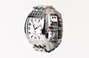 Michele Michele Silver Stainless Steel Urban Quartz Bracelet Watch