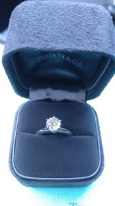 Tiffany & Co. Tiffany & Co 1.25ct Round Cut Platinum