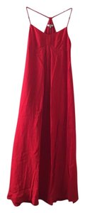 Red Maxi Dress by Madewell Maxi