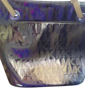 Michael Kors Tote in Mirror Gold
