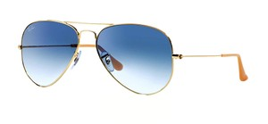 Ray-Ban RB 3025 001/78 LARGE (58mm) - (color) GOLD - BLUE POLARIZED LENS - Free 3 Day Shipping