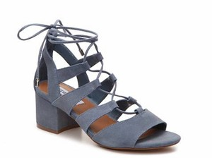 Steve Madden Strappy Laceups Blue Sandals