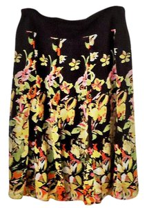 M Collection Elastic Flowy Skirt floral