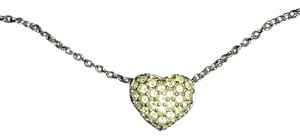 Swarovski Swarovski Double Side Heart Necklace