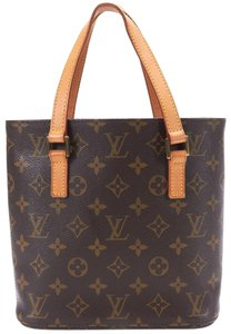Louis Vuitton Canvis Monogram Vavin Pm Tote in Brown