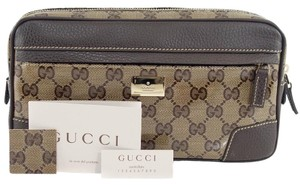 Gucci Belt Fanny Pack Brown Travel Bag
