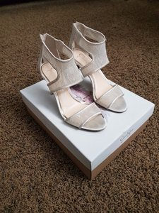 Jessica Simpson Jessica Simpson Lace Heels Wedding Shoes