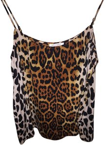 Equipment Tank Silk Top Leopard