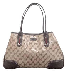 Gucci Gg Canvas Tote in Brown