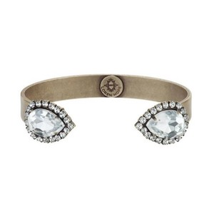 Loren Hope Small Sarra Cuff in Crystal