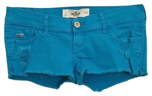 Hollister Distressed Shorts Blue