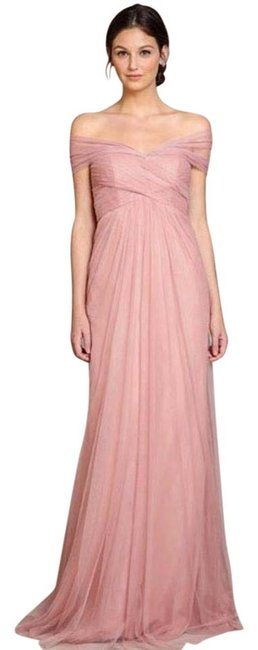 Item - Apricot Sweetheart Tulle Long Formal Dress Size 4 (S)