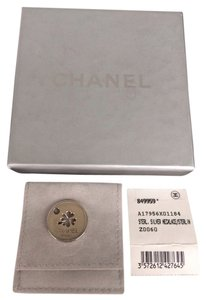 Chanel Sterling Silver Chanel Pendant