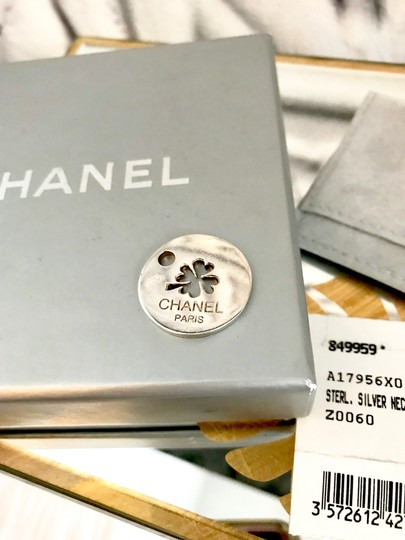 Chanel Sterling Silver Chanel Pendant Image 2