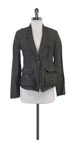 Vince Grey One Button Blazer