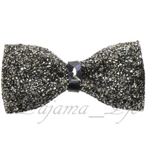 Bronze Rhinstone Crystal Diamond Style Pre Party Prom Accessory Tie/Bowtie