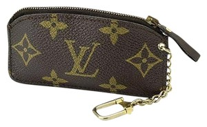 Louis Vuitton Authentic Louis Vuitton Vintage Monogram Cles Coin Purse
