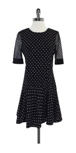Rebecca Taylor short dress Black & White Print on Tradesy