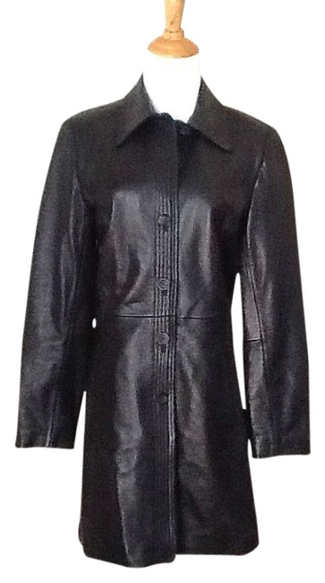 Preload https://item4.tradesy.com/images/casual-corner-black-leather-jacket-size-4-s-2003808-0-0.jpg?width=400&height=650
