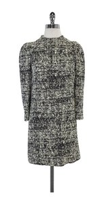 Proenza Schouler short dress Black White Cream Tweed on Tradesy