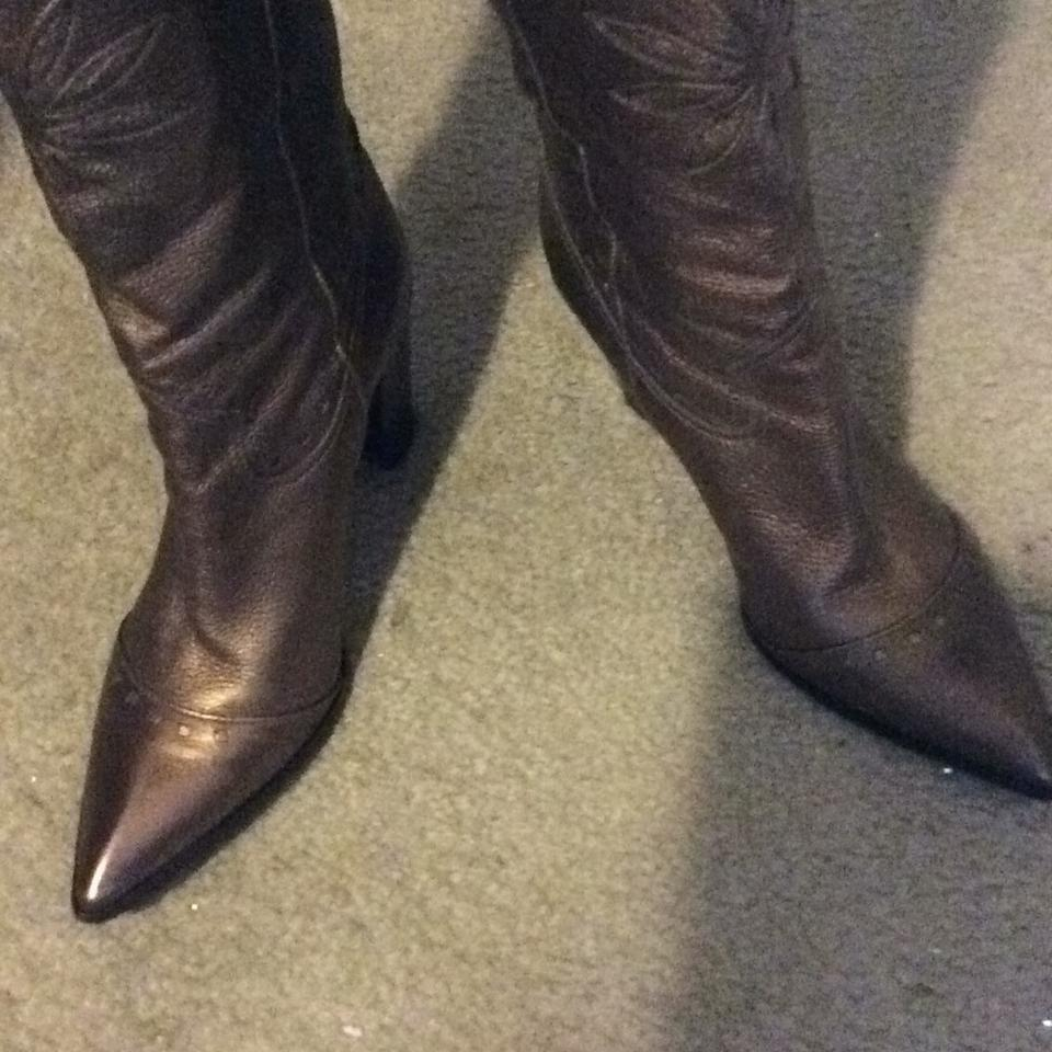Ladies Vince welcome Camuto Bronze Boots/Booties Order welcome Vince da4642