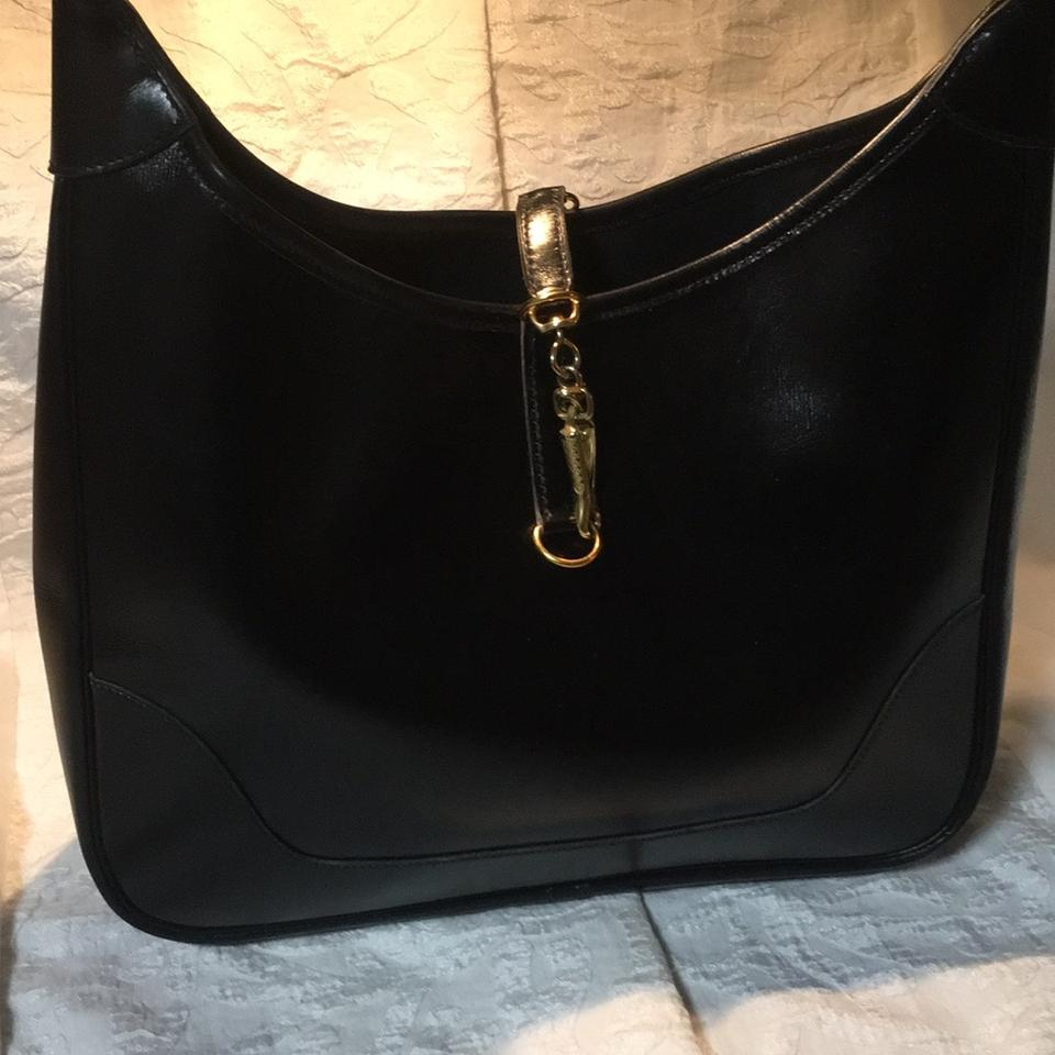 Hermès Trim 31 Black Leather Shoulder Bag - Tradesy f7d376189e1c4