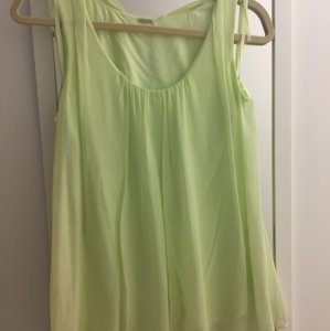 Elie Tahari Top Light green