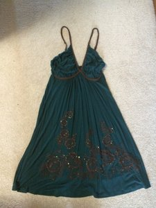 Soul Revival short dress dark green on Tradesy