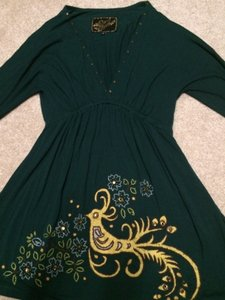 Soul Revival Top dark green