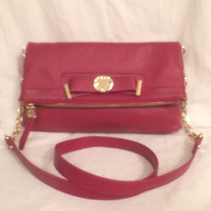 Emma Fox Leather Clutch Cross Body Bag