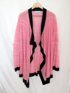 Misook Sheer Plus Size Pink Jacket
