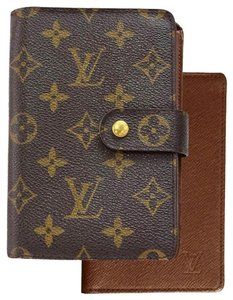 Louis Vuitton Porte Papier Zip Bifold Wallet Purse Monogram M61207 Men