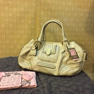Juicy Couture Satchel in Off White