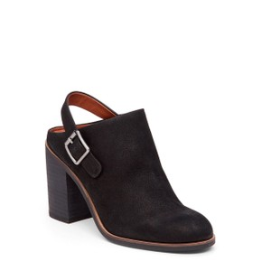 Lucky Brand Buckle Boot Black Boots