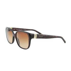 Tiffany & Co. 55mm,brown Havana,new Other (see Details),rectangular,tf-4078b-81603b