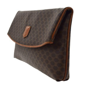 Cline Purse Wallet Brown Clutch