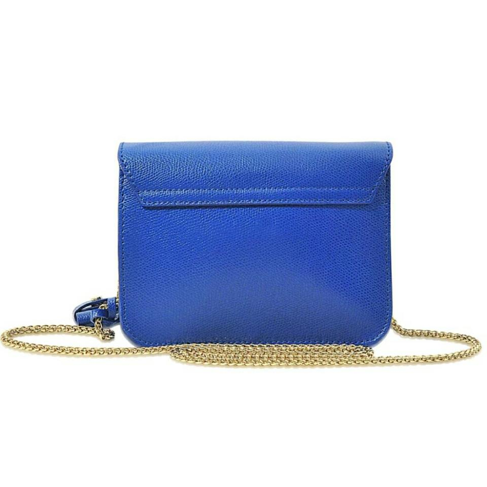 Furla Furla Blue Shoulder Bag Leather Blue Blue Bag Leather Shoulder Furla nB5UgY0xq
