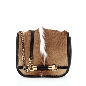Jimmy Choo Gazelle Hair Black Cross Body Bag