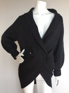 Robert Rodriguez Chunky Cashmere Shawl Collar Sweater