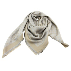 Louis Vuitton New Louis Vuitton LV Shiny Beige Monogram Shine Shawl & Wrap M75121